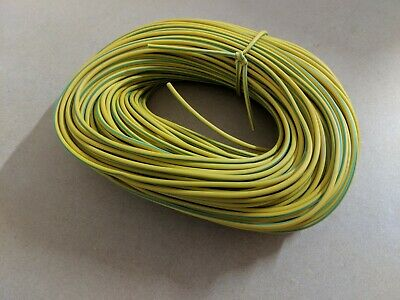 PVC Earth Sleeving 3mm Green//Yellow choose length 1-100 meter DIY wire cable