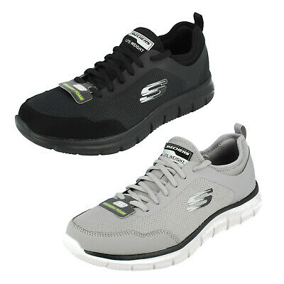 MENS SKECHERS LITE WEIGHT Lace Up Memory Foam Trainers TRACK