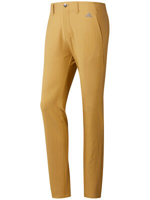 Adidas Ultimate 3-Stripe Tapered Pant - Raw Sand -  Mens