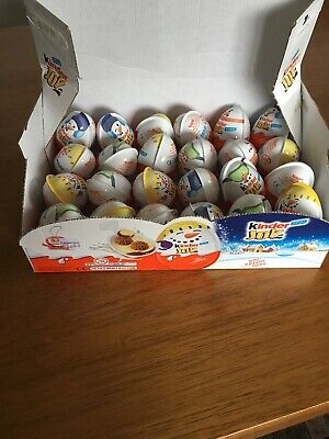 New Kinder Joy Surprise Eggs with Kids Toy - Pack of 24 X 20g BB 05/02/2019