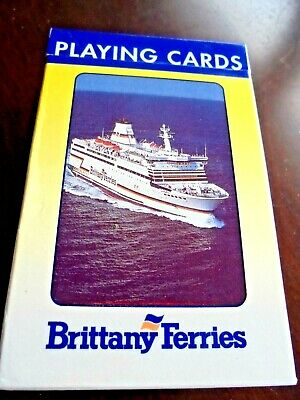 Full Set Retro Playing Cards Brittany Ferries  In Original Box