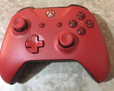 Microsoft Xbox One Wireless Controller - Red Oem Official