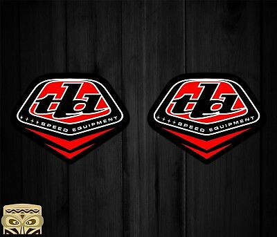 Pegatina Sticker Aufkleber Autocollant Adesivi Laminated Troy Lee Designs