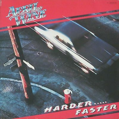 April Wine - Harder Faster (Capitol-Records Vinyl-LP Schallplatte Germany 1979)