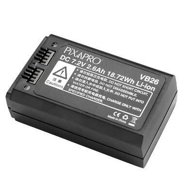 Replacement Battery for Round Head Speedlite 76Ws Lighting Portable Photography