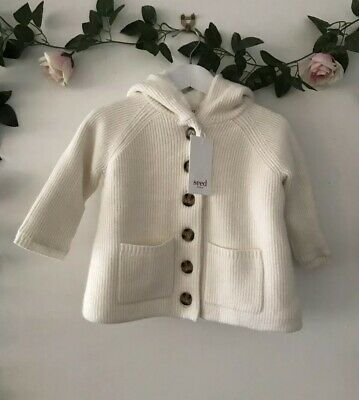 Seed Heritage BabyGirl Hoodie Size 12-18 Months RRP$59.95