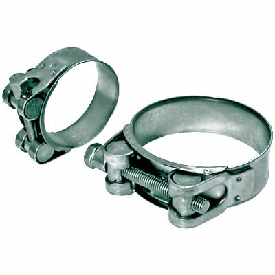 Jubilee Super Clamps, Heavy Duty Mild Steel Hose Bolt Clamps / Hose Clips