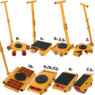 6T-18T Machinery Mover Multi Species Machine Dolly Skate