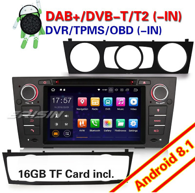 "Erisin ES3867B 7 ""Android 8.1 DVD GPS Radio DVR pour BMW E90"