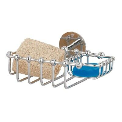 Chrome Brass Soap Dish Sponge Basket Wall Mount 2 In 1 | Renovator's Supply
