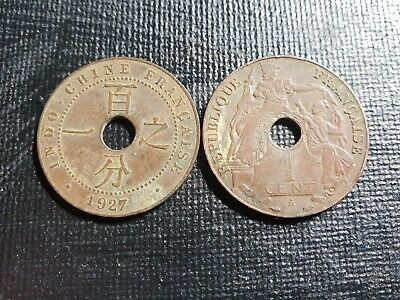 Indochina 1 cent nice grade, 1 coin