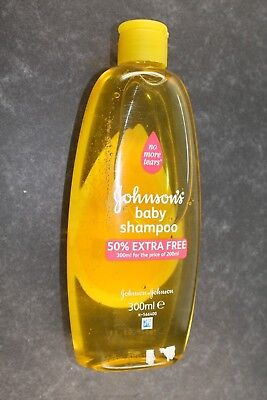 JOHNSON JOHNSON BABY SHAMPOO 300ml NEW GENUINE UK STOCK
