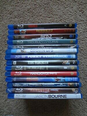 Lot of 14 Blu-Ray Movies -- From our home library -- VG Condition