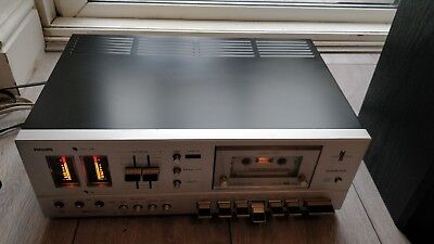 Beautiful condition - Rare - Philips N2542 Tape Player/Recorder Fully Working