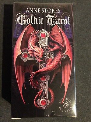 Anne Stokes Gothic Tarot, new, sealed, 78 card deck, Fournier 2015