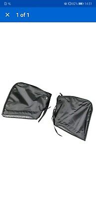 BAGSTER 4640A Scooter Muffs, Black, One Size Hans Warmers Gloves Motorbike
