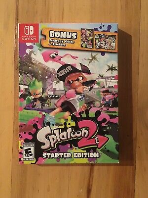 Splatoon 2 Starter Edition with strategy guide, stickers (Nintendo Switch, 2017)