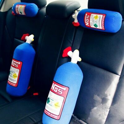 Pillow Plush Turbo JDM Toy 28*10cm NOS Nitrous Oxide Bottle Tank Shape Car Home