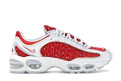 b5bb36e4ca Nike Air Max Tailwind 4 Supreme White AT3854-100 White/Red NEW Authentic Sz