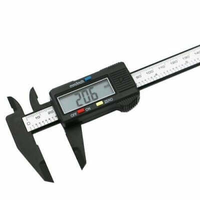 "150mm 6"" Stainless Steel Electronic Digital Vernier Caliper Depth Measurement"