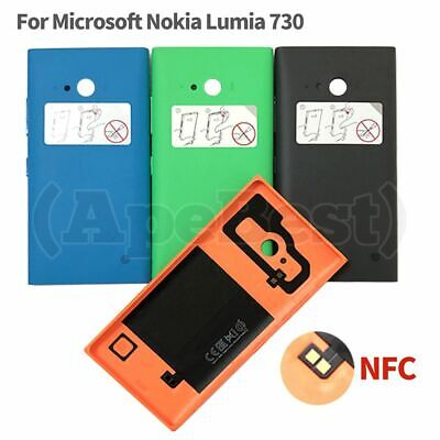 Rear Back Battery Cover Case Door Housing For Microsoft Nokia Lumia 730 New