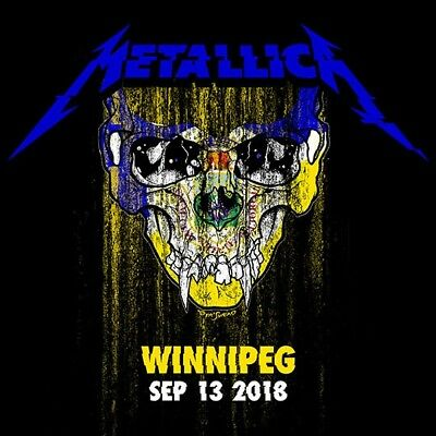 METALLICA / World Wired Tour / LIVE / Bell MTS Place - Winnipeg, Sep. 13, 2018