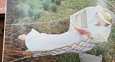 Weaving PlaitingPattern with string  Macrame   How To Make a Hammock  Reproduced