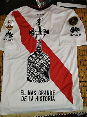 253cbb57a 2018 RIVER PLATE Copa Libertadores Home Soccer Jersey And Champion ...