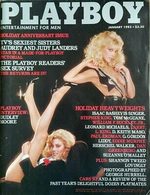 Playboy January 1983 Mens Vintage Adult Glamour *FREE POST*