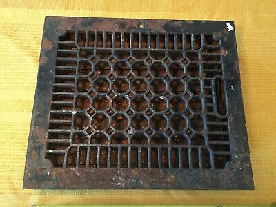 Vintage FLOOR REGISTER Vent / Grate - CRAFTSMAN Mission Style Parts/Repair 14x12