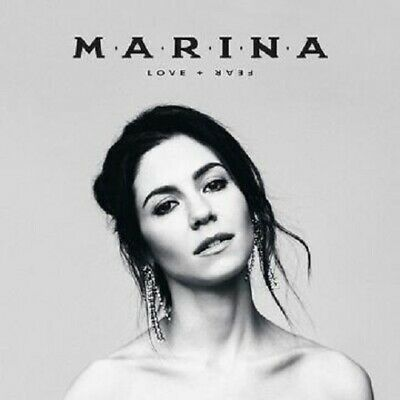 MARINA LOVE + FEAR CD (Released Friday April 26th 2019)