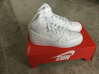 reputable site 6c85a a24ee Nike Wmns Son Of Force Mid 616303 110 White Wolf Grey New Uk6 Eu40