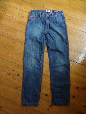 (200JAN) Age 14 *QUIKSILVER* Ace blue denim boys jeans