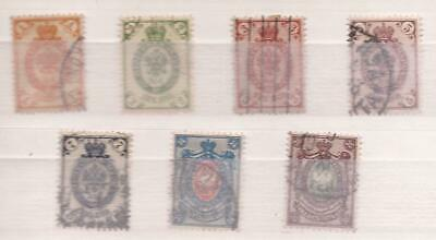 Russland  (  Russia  )    -  1889  -  Lot Of Stamps