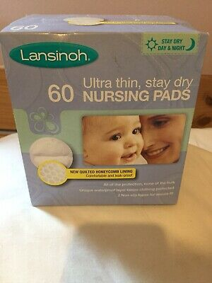 Lansinoh Disposable Ultra thin, stay dry Nursing Padsx60