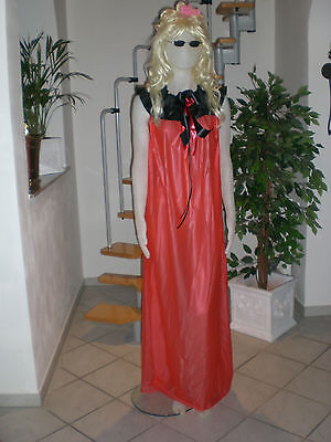 Neu Ultra Soft Pvc Nachthemd Pyjama Kleid Nightgown L Xl Xxl