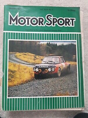 Motorsport magazines 1975 complete year