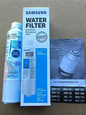 Genuine Samsung DA29-00020B-1P DA29-00020B Refrigerator Water Filter 1 Pack