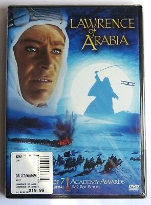 Lawrence of Arabia DVD widescreen Brand New (Peter O'Toole, Alec Guinness)