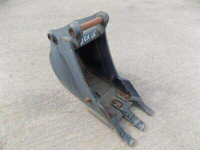 12Inch Jcb 2Cx Bucket On 30 Mm Pins / Free Uk Delivery Included