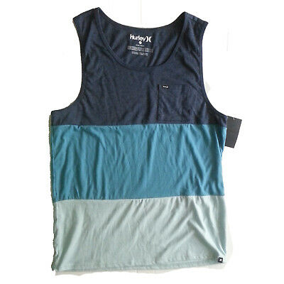 "Hurley Men Size XL Tank Color Block 24""x30"""