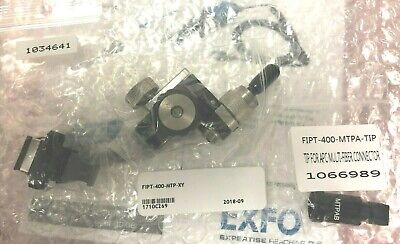 EXFO FIPT-400-MTP-XY Bulkhead Adapter & FIPT-400-MTPA-TIP & 1034641 ADAPTER