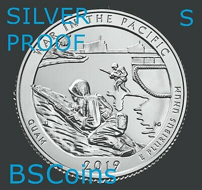 2019 S ATB War In Pacific, GU 99.9% SILVER PROOF Qtr Gem Deep Cameo - PRESALE!!