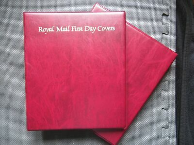 Royal Mail First Day Covers Album With Slipcase & 19 Sleeves