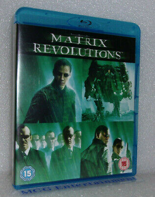Matrix Revolutions (Blu-ray, 2009) Keanu Reeves