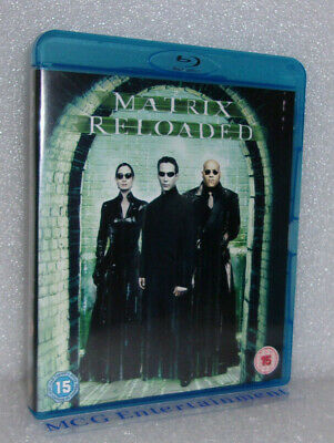 The Matrix Reloaded (Blu-ray, 2009) Keanu Reeves