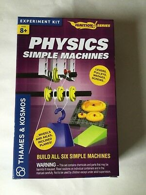 THAMES & KOSMOS PHYSICS 8 Simple Hands On Experiments Kit Home