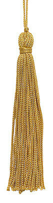 "Antique Gold 4"" Chainette Tassels gold [Set of 10]"