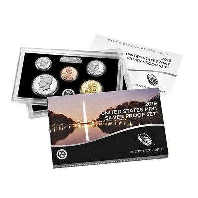 "Sale Price - 2019 US Mint Proof Silver Set w/o Lincoln ""W"" Reverse Proof Penny"