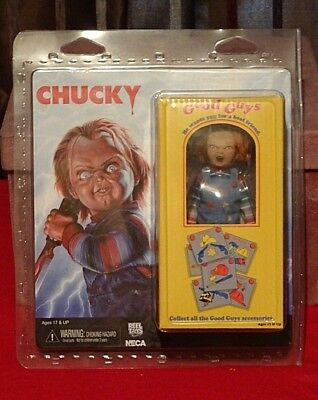 Chucky Doll NECA Good Guy's Child's Play NEW & BOXED Chucky Collectable Doll